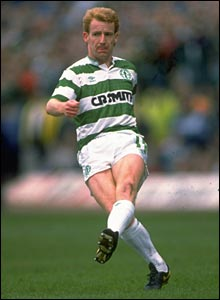 Tommy in action for the Bhoys